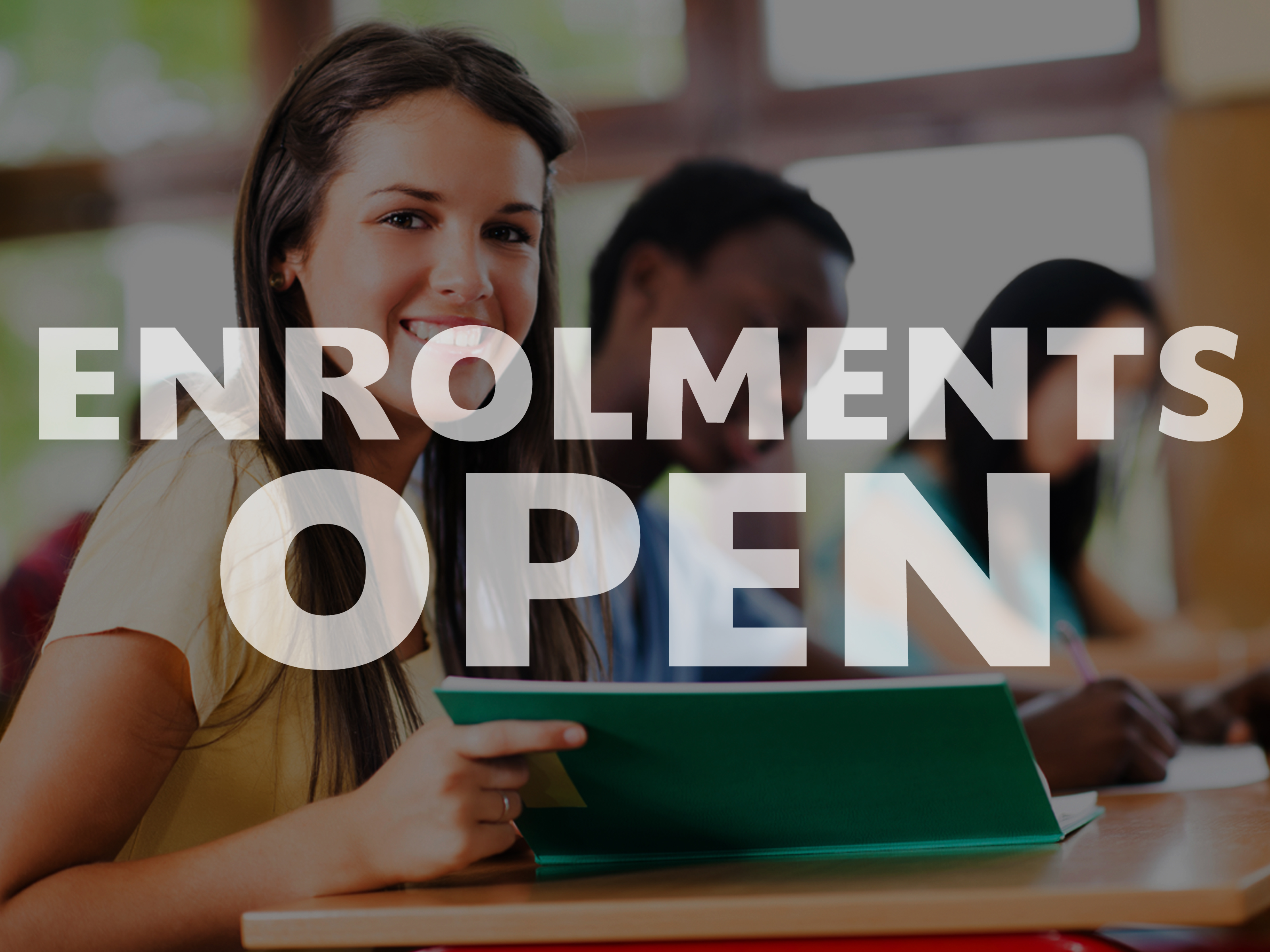Enrolments-Open